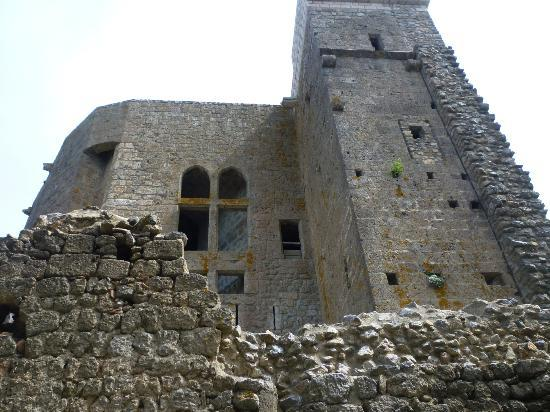 Chateau de Queribus: Una facciata del castello