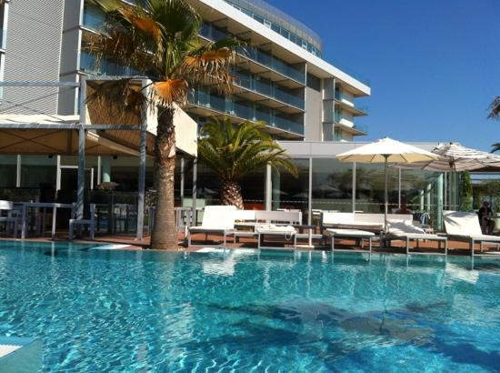 Radisson Blu Resort Split: View from poolside