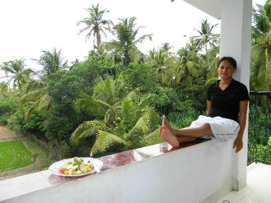 Heaven Goa Guesthouse: Good morning Goa!