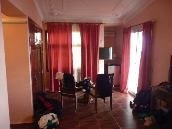 ‪دار - تيليدجين: Room at Hotel Dar-Tlidjene‬