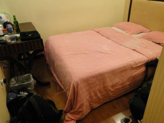 Forbidden City Hostel: Bedroom