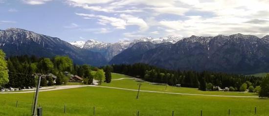 Berghof Predigstuhl: Panorama