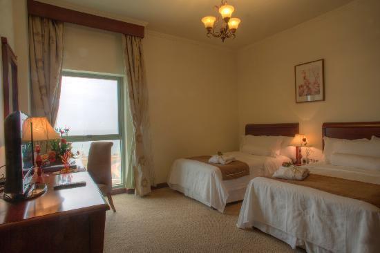 Siji Hotel Apartments: Three Bedroom Apartment Twin BedRoom