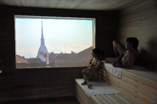 Una delle nostre 5 saune - Foto di QC Termetorino, Torino ...