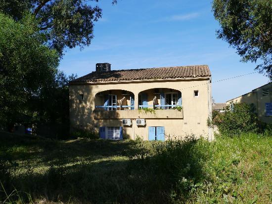 Porquerolles Island, France: Chambres côté patio