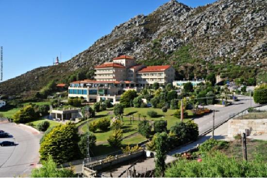 Talaso Atlantico: Panorámica frontal del Hotel