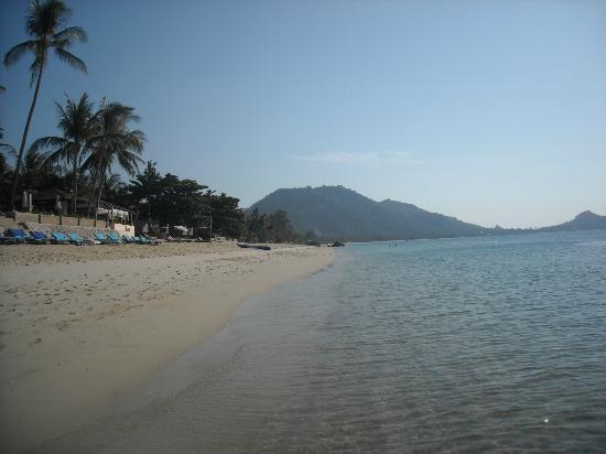 ไทยอโยธยาวิลลาส์ & สปา: Spiaggia davanti all'hotel 4
