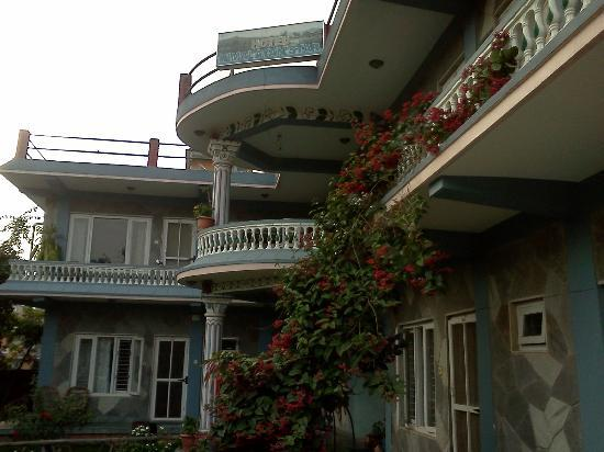 Himalayan Star Hotel: View from front