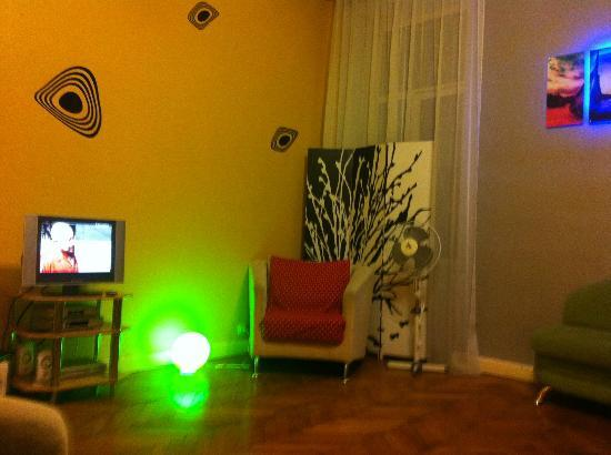 Kiev Lodging Hostel: TV Raum