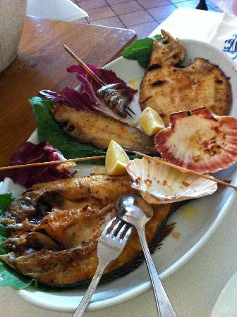 Ristorante Pippo: Grigliata mista di pesce