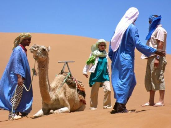 Morocco Discovery Day Tours : Camel ride - Morocco-discovery