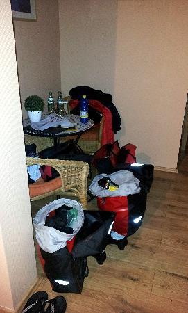 Hotel Restaurant Zum Alten Schifferhaus: mit unseren Radsachen