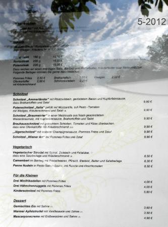 Brauhaus Joh. Albrecht: La carte... 2012 !