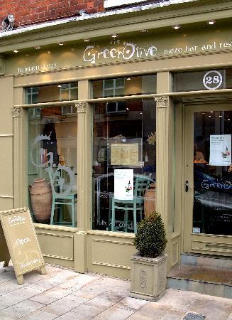 Green Olive Meze Bar & Restaurant: Front of Shp