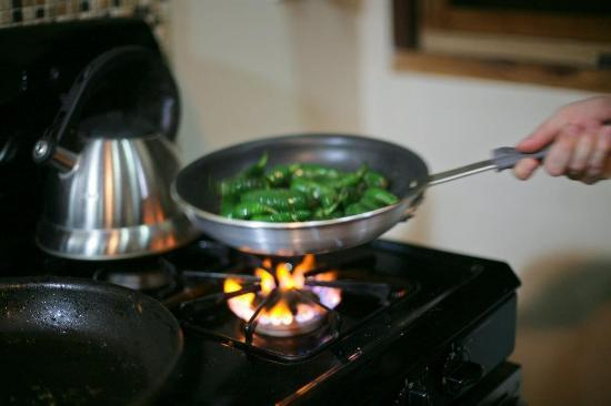Casas de Soleil: Cooking
