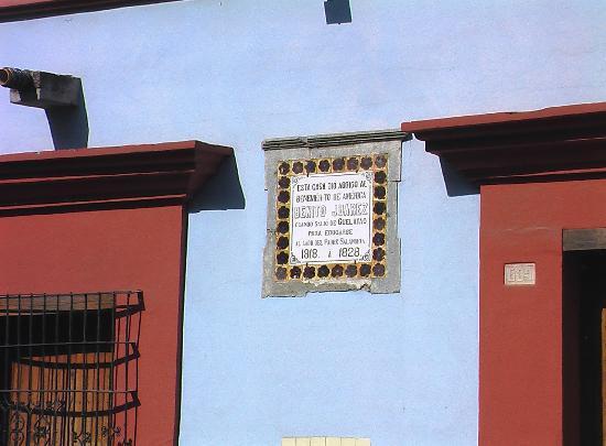 Benito Juarez Home (Casa de Benito Juarez): Benito Juares home