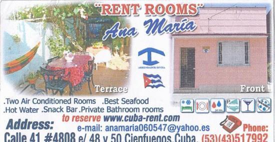 Casa Ana Maria: card
