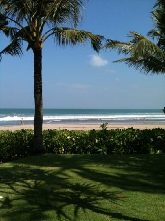 The Oberoi Bali: view from hotel