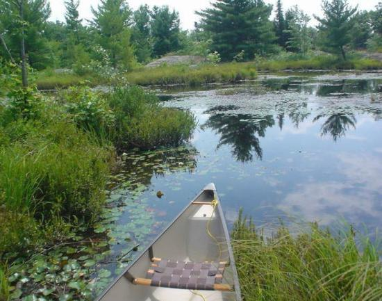 Mom's Wilderness Retreat: Great portage routes!