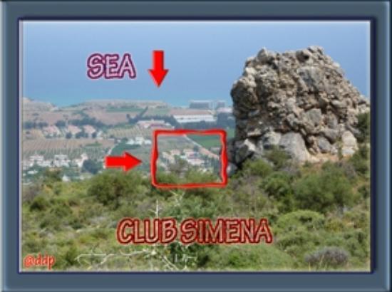 Club Simena: Hotel tussen berg en zee