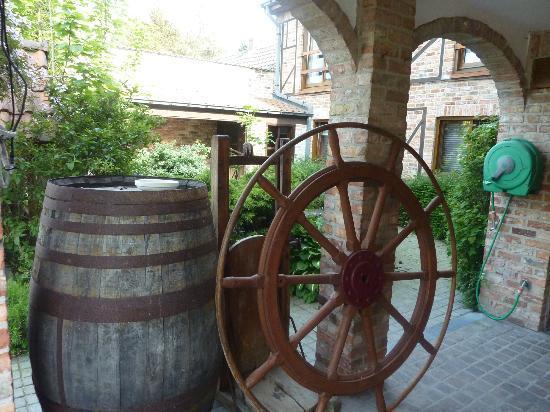 Hotel De Stokerij: l'entrée