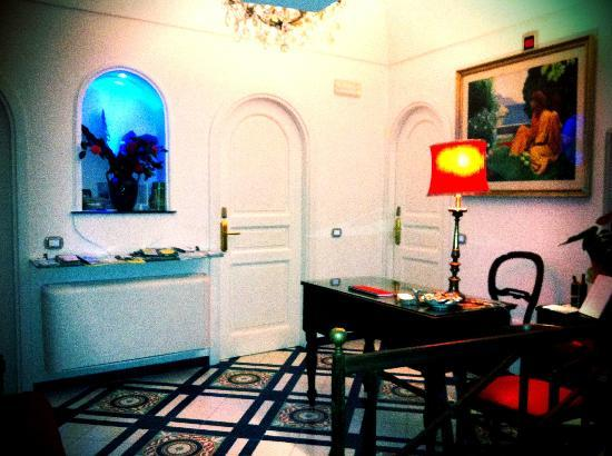 Hotel Croce di Amalfi: Reception