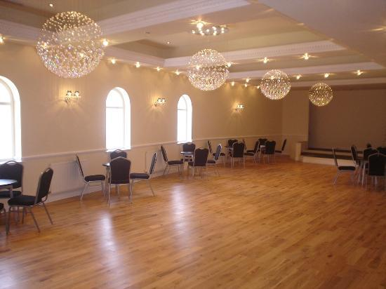 Tiffany's Hotel Blackpool: The delightful Crystal Ballroom at Tiffany's Hotel