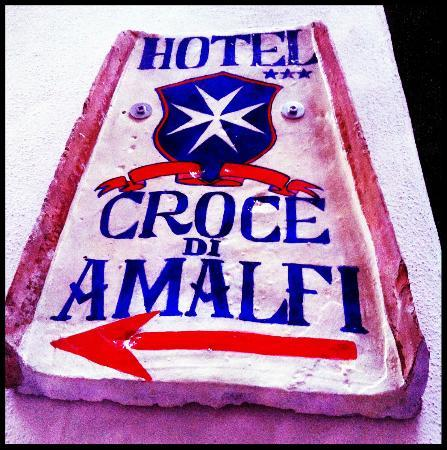 Hotel Croce di Amalfi: Hotel Plaque