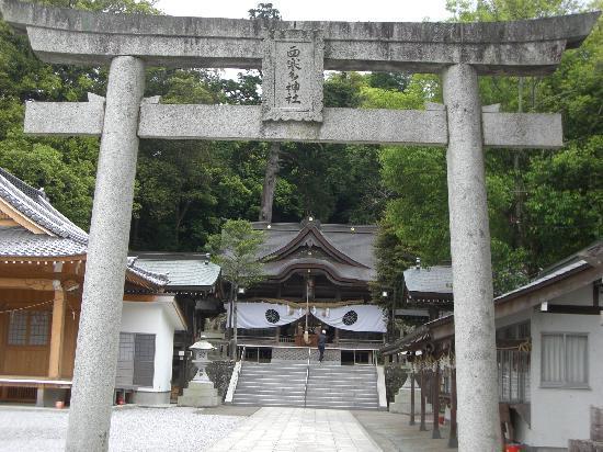 Oita, Japon : 鳥居です。