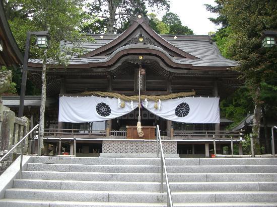 Oita, Japon : 拝殿です。