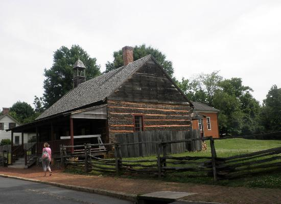Old Salem Museums & Gardens: first african american moravian church