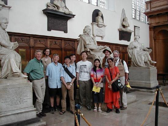 Cambridge Christian Heritage Tours: Trinity Antechapel