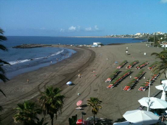 Dunas Don Gregory: playa desde la habitacion