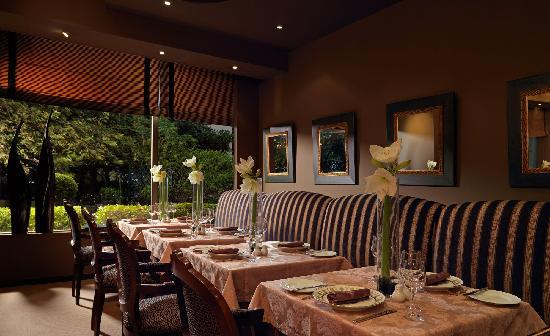 Dining at Divani Caravel Hotel in Athens