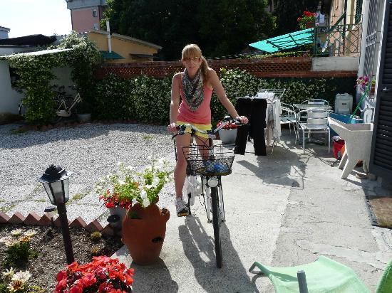 La Mimosa : bikes