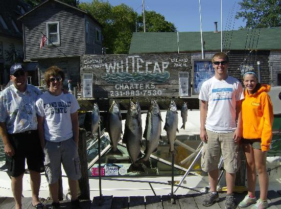 Whitecap Charters Fishing: The Family