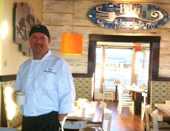 Blu' Island Bistro: Chef/Owner Alan Laskowski, Culinary Institute of America Graduate. Won Best of Philadelphia for