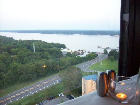 360 Grille: View a top the restaurant