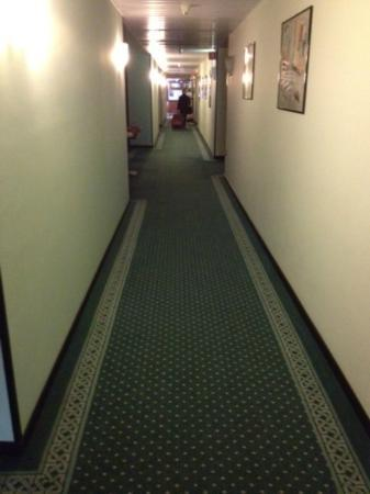 Hotel Il Corazziere : Dirty Dark and depressing hallway