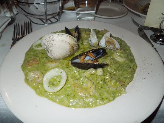 Trattoria Dopo Teatro : seafood risotto