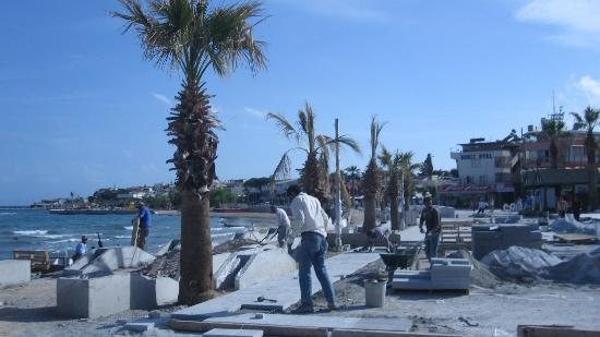 Altinkum Beach: still ongoing 15th May