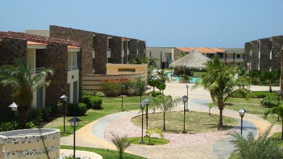 Hotel Kokobay: vista desde el lobby