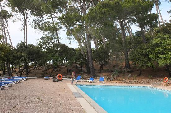 El Encinar Valldemossa Hotel: Pool, keine Duschen, keine Toiletten !