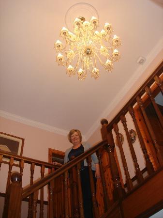 Scapaflow: Hallway stairs, landing area