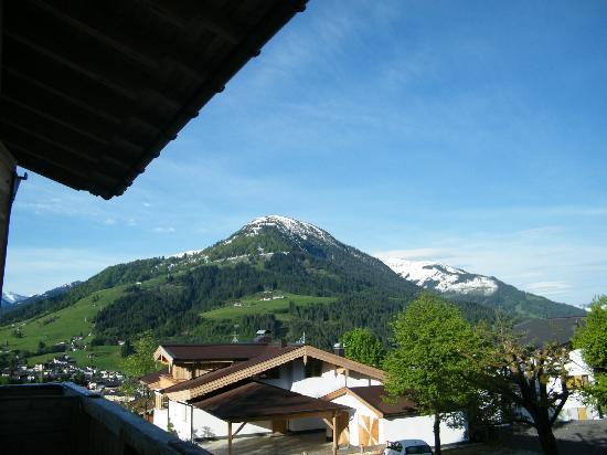 Hotel Garni Wieshof: Blick vom Balkon