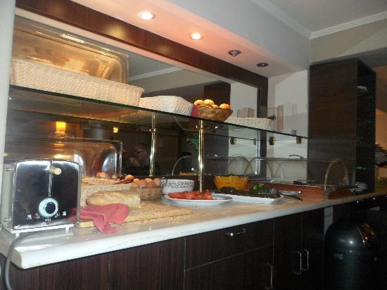 Hotel Nafsika : desayuno