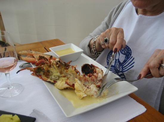 Le bistrot de l'ecailler: Le 1/2 homard du menu