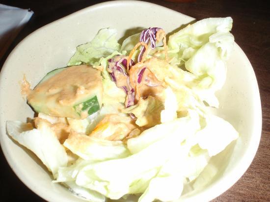 Azan Wok: ginger salad