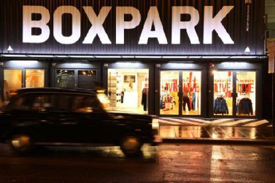 ‪Boxpark Shoreditch‬