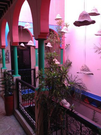 Hostel Nari-Nari Marrakech : Mezzanine